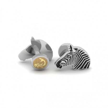 zebra cufflink